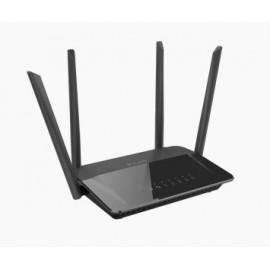 D-Link AC1200 Dual Band router inalámbrico Doble banda (2,4 GHz   5 GHz) Gigabit Ethernet Negro