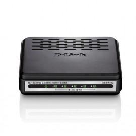 D-Link GO-SW-5G switch No administrado Negro
