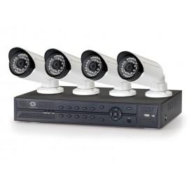 Conceptronic Kit de vigilancia IP de 4 canales