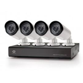 Conceptronic Kit de vigilancia AHD CCTV de 8 canales