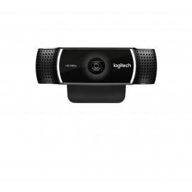 Logitech C922 cámara web 1920 x 1080 Pixeles USB Negro