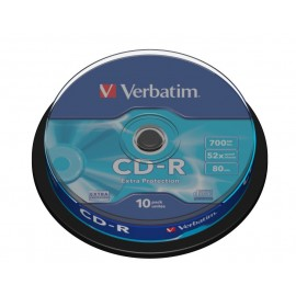 Verbatim CD-R Extra Protection 700 MB 10 pieza(s)