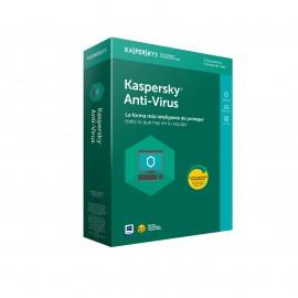 Kaspersky Lab Anti-Virus 2018 Licencia completa 3 licencia(s) 1 año(s) Español