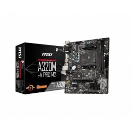MSI A320M-A PRO M2 placa base Zócalo AM4 Micro ATX AMD A320