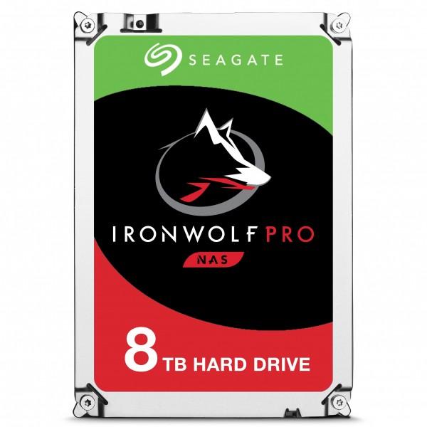"Seagate IronWolf Pro ST8000NE0004 disco duro interno 3.5"" 8000 GB Serial ATA III"