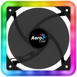 Ventilador Aerocool Edge Rgb 12Cm En Espacio 14(Edge14)