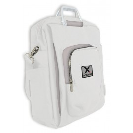 "Approx appNBST15x maletines para portátil 39,6 cm (15.6"") Mochila bandolera Gris, Blanco"
