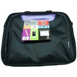 """Approx APPNBCP15BP maletines para portátil 39,6 cm (15.6"""") Maletín Negro, Púrpura"""