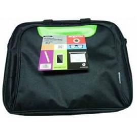 """Approx APPNBCP15BGP maletines para portátil 39,6 cm (15.6"""") Maletín Negro, Verde"""
