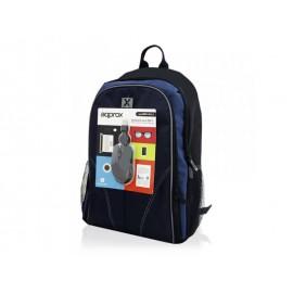 "Approx NBBUNDLE4 maletines para portátil 39,6 cm (15.6"") Funda tipo mochila Negro, Azul"