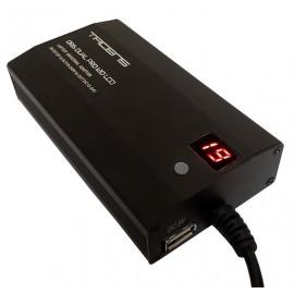 Tacens Oris Dual Pro 120 adaptador e inversor de corriente Interior 120 W Negro