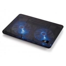 """Conceptronic CNBCOOLPAD2F almohadilla fría 43,2 cm (17"""") Negro"""