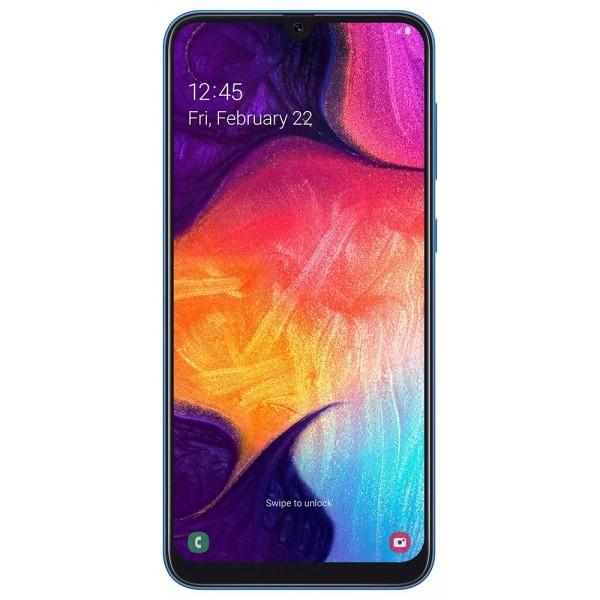"""Samsung Galaxy A50 SM-A505F 16,3 cm (6.4"""") 4 GB 128 GB SIM doble 4G USB Tipo C Azul 4000 mAh"""