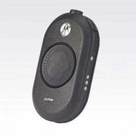 Motorola CLP446 two-way radios 8 canales 12500 MHz Negro