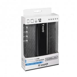 TooQ TQPB-1104-B batería externa Negro Litio 10400 mAh