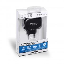 TooQ TQWC-1S02 cargador de dispositivo móvil Interior Negro