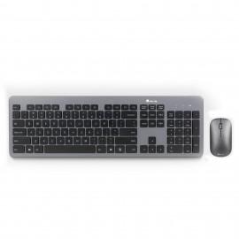 NGS Matrix Kit teclado RF inalámbrico QWERTY Español Gris