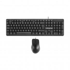 Tacens ACP0ES teclado USB QWERTY Español Negro