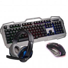 NGS GBX-1500 teclado Negro, Gris