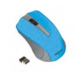 Approx APPWMLITExV2 ratón RF inalámbrico Óptico 1200 DPI Ambidextro