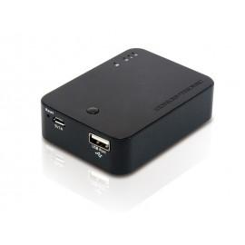 Conceptronic StreamVault Lector de tarjetas inalámbrico con Powerbank