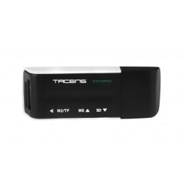 Tacens Anima ACRM1 lector de tarjeta Negro, Blanco USB 2.0