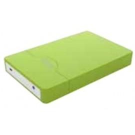 """Approx appHDD09GP 2.5"""" Verde USB con suministro de corriente"""