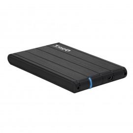 """TooQ CAJA HDD 2.5"""" SATA A USB 2.0 USB 3.0 NEGRA"""