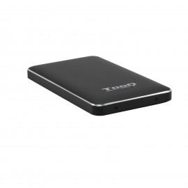 """TooQ Caja externa para discos duros 2.5"""" SATA I II III a USB 3.1 Gen1 con UASP"""