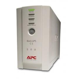 APC Back-UPS sistema de alimentación ininterrumpida (UPS) En espera (Fuera de línea) o Standby (Offline) 500 VA 300 W 4 salidas