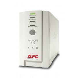 APC Back-UPS sistema de alimentación ininterrumpida (UPS) En espera (Fuera de línea) o Standby (Offline) 650 VA 400 W 4 salidas