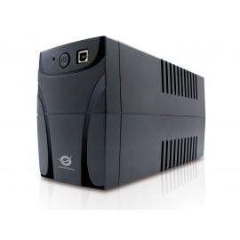 Conceptronic CUPS850 sistema de alimentación ininterrumpida (UPS) Línea interactiva 850 VA 480 W 4 salidas AC