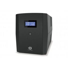 Conceptronic ZEUS03EM sistema de alimentación ininterrumpida (UPS) Línea interactiva 1200 VA 720 W 5 salidas AC