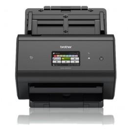 Brother ADS-2800W escaner 600 x 600 DPI Escáner con alimentador automático de documentos (ADF) Negro A3