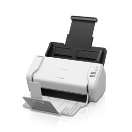 Brother ADS-2200 escaner 600 x 600 DPI Escáner con alimentador automático de documentos (ADF) Negro, Blanco A4