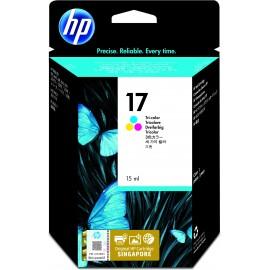 HP 17 Original Cian, Magenta, Amarillo 1 pieza(s)