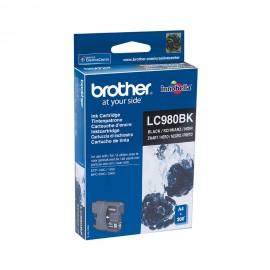 Brother LC-980BK cartucho de tinta Original Negro 1 pieza(s)