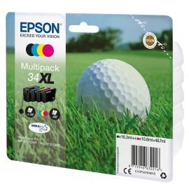 Epson Golf ball Multipack 4-colours 34XL DURABrite Ultra Ink