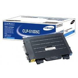 Samsung CLP-510D5C cartucho de tóner Original Cian 1 pieza(s)